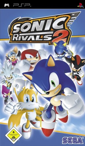 Sonic Rivals 2 (Playstation 2-sonic)