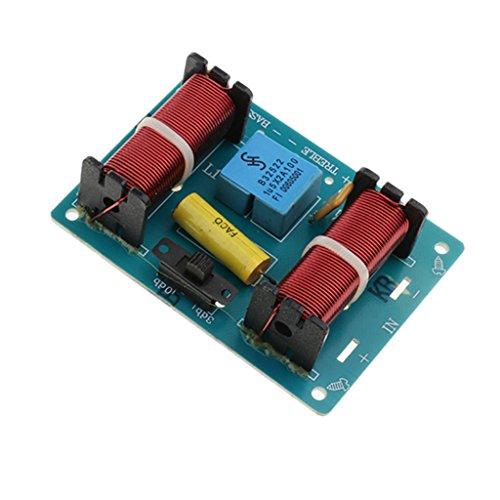 IPOTCH Lautsprecher Audio Frequenzteiler frequenzweiche 3-Wege-Modul,Audio Board - 2 -