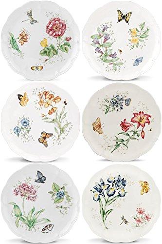 Lenox Butterfly Meadow Speiseteller, 6Stück sortiert Lenox Butterfly