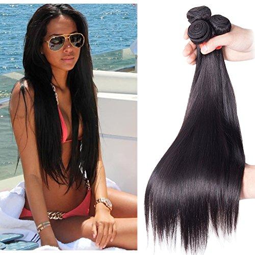 richair-100-human-hair-3bundles-tissage-bresilien-lisse-couleur-1b-18-18-18-pouces45-45-45cm-tissage