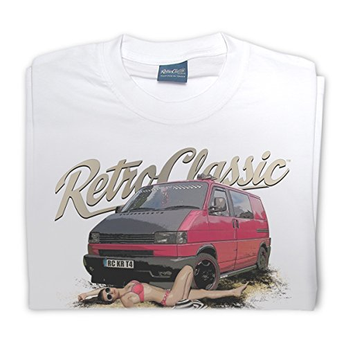 RetroClassic Herren T-Shirt Weiß