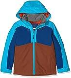 Ziener Kinder Aboro Jacket Ski Skijacke, Copper Melange, 140
