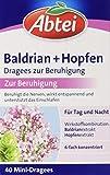 Abtei Baldrian + Hopfen Dragees zur Beruhigung, 40 Stück