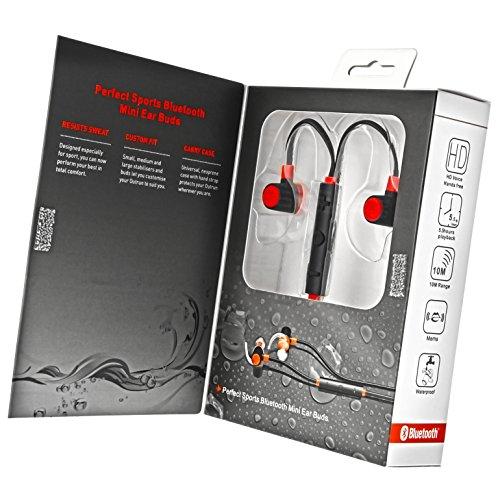 Wassergeschuetzter-Bluetooth-40-In-Ear-Kopfhoerer-in-energetischem-Rot-fuer-Sport-und-Freizeit-mit-integriertem-Headset-Minadax-C5
