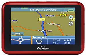 Binatone G430 Widescreen Satellite Navigation with UK and ROI Mapping (discontinued by manufacturer)
