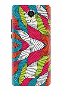 Noise Designer Printed Case / Cover for Micromax Canvas Unite 4 Q427 / Patterns & Ethnic / layers Design