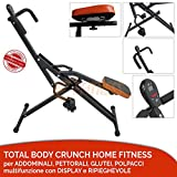 FFitness OFFERTA TOTAL POWER BODY CRUNCH con display computerino LCD HOME...