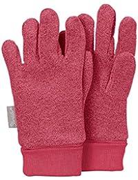 Sterntaler Fingerhandschuhe für Kinder, Rot (Beere)