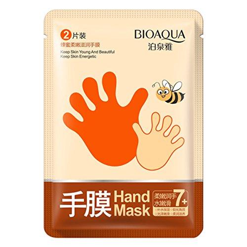 Peng Sheng Feuchtigkeitsmaske für die Hände mit Honig, nährt und hellt die Haut auf, Peeling-Wirkung