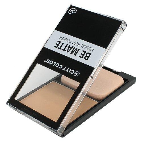 (6 Pack) CITY COLOR Be Matte Mineral Blot Powder - Translucent
