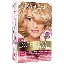 L'Oréal Paris Coloración Excellence Crème Triple Protección 9 Rubio Claro - 200 gr
