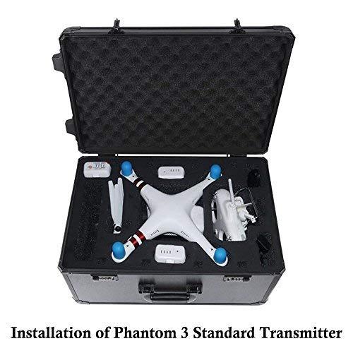 HUL Premium Aluminium, der Fall für DJI Phantom 4und 3