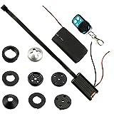 Vigilancia Mini cámara oculta botón cámara oculta de movimiento, 1200Mega Pixeles Kleine Mini cámara de vídeo Spy Cam Full HD
