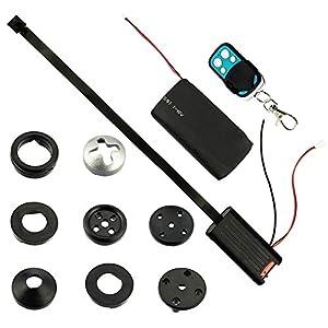 camaras de video espionaje: beaufit de alta resolución de video más pequeña botón splintloop espía cámara de...