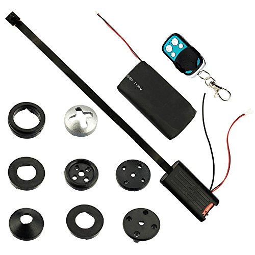 beaufit de alta resolución de video más pequeña botón splintloop espía cámara de vídeo