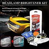 Househome Car Headlamp Kit ripristino fari Auto Rivestimento AntiGraffio sbiancante lucidatura Strumento Auto Pulizia Lente Riparazione sbiancante
