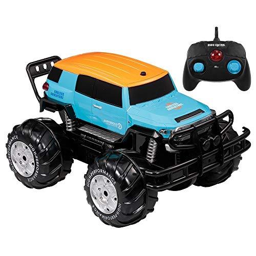 Lustig YED1601 1/10 2,4 GHz 4WD Riesenrad Off-Road Amphibienfahrzeug Cross Country Auto Land und Wasser Spielzeug für Kinder Anfänger für Kinder Geburtstagsgeschenk