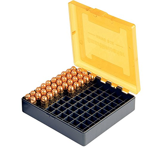 Smart Reloader SMARTRELOADER Boîte pour Munitions #3 pour .38 Special - .357 Magnum - .38 Super Auto (100 cartouches)