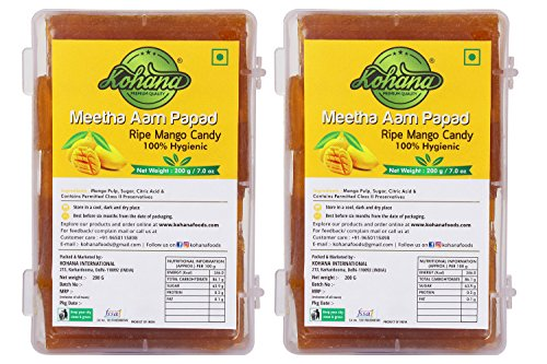 Kohana international 100% Hygienic Meetha Aam Papad -400Gm