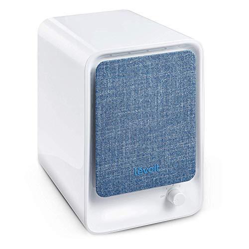 Levoit Luftreiniger Air Purifier mit HEPA-Kombifilter & Aktivkohlefilter, 3-Stufen-Filterung für 99,97% Filterleistung, perfekt für Allergiker Raucher, ideal für Schlafzimmer Büroarbeitsplatz, LV-H126