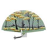 Abanico diseño arboles Talla: U Color: VERDE