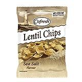 (12 PACK) - Cofresh - Eat Real Lentil Chips Sea Salt | 40g | 12 PACK BUNDLE