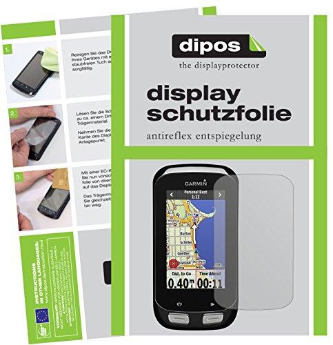 dipos I 6X Schutzfolie matt passend für Garmin Edge Explore 1000 Folie Displayschutzfolie