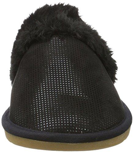 s.Oliver 27100, Pantofole Donna Nero (Black Struct.)