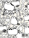 Pusheen cat coloring book: Over 50 Coloring Pages Of Pusheen Cat Movie. To Inspire Creativity And Relaxation. A Perfect Gift For Kids And Adults
