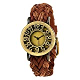 #6: Vego Analogue Brown Dial Women's Watch - VG1000