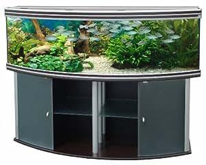 Aquatlantis - Aquarium + Meuble - Evasion Horizon 200 - Wenge