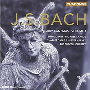 Bach Early Cantatas, Volume 1 / Purcell Quartet