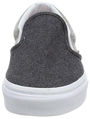 Vans U CLASSIC SLIP-ON WOOL SPORT Sneaker basse, Uomo Grigio (Grey (Wool Sport - Pewter/Gray))