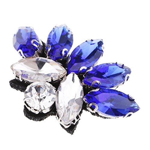 Homyl Hermosa Parche Cuentas Diamantes Imitación