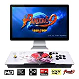 TAPDRA Pandora's Box 9 Multiplayer Joystick and Buttons Arcade Console, Arcade Games Machines, 1500 Retro Classic Video Games All in One, Newest System with Advanced CPU, Compatible with HDMI and VGA