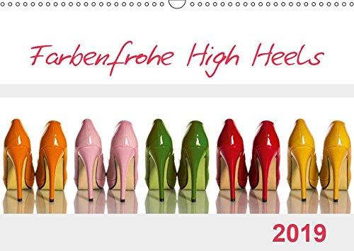 Farbenfrohe High Heels (Wandkalender 2019 DIN A3 quer): High Heels können nicht nur sexy und erotisch, sondern durchaus auch farbenfroh sein. (Monatskalender, 14 Seiten ) (CALVENDO Lifestyle)