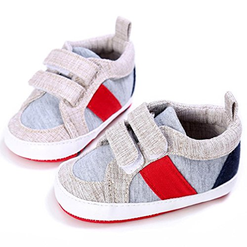 Baby Schuhe, Moonuy Soft Sohle Schuh Turnschuhe,Abstand! Grau