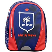 F.F.F Équipe de France de Football 173FFF201SAC Sac à Dos Mixte Enfant, Bleu, 32 cm