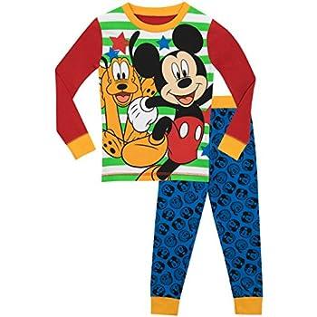 Disney Mickey Mouse Boys Warm Character Jumper Hoodie Sweatshirt Top 2-8 Years