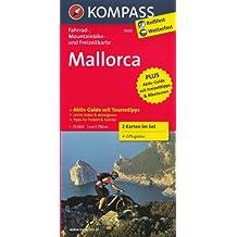 Majorque 1:75.000 Carte vélo (route et montagne) jeu de 2 cartes plastifiées (Espagne) # 3500