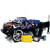 RC Auto Hammer Jeep Monster Truck Offroader 1:10 ferngesteuert - komplett Set