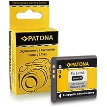 Batteria Olympus Li-50b | Pentax D-Li92 per Olympus mju 1010 | 1020 | 1030 SW | 9000 | 9010 | Tough-6000 | Tough-6010 | Tough-8000 | Tough-8010 etc... Pentax Optio X70 | I-10 | RZ10 | RZ18 | WG1 GPS | WG2 GPS | WG3 GPS | WG10