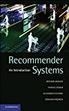 Recommender Systems: An Introduction