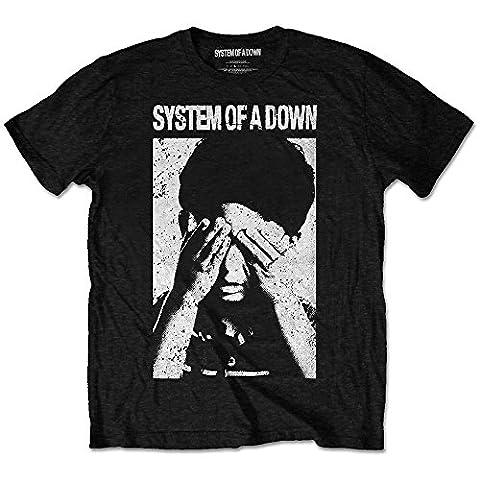 System of a Down See No Evil Rock Heavy Metal offiziell Männer T-Shirt Herren (XX-Large)