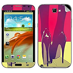Theskinmantra Stileto's Samsung Galaxy Note 2 mobile skin