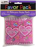 12 Mini Princess Notepads