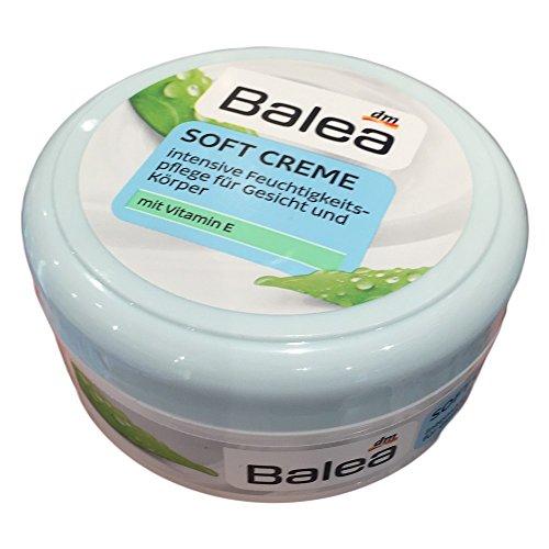 Balea Soft Creme für Gesicht und Körper mit Vitamin E (250ml)