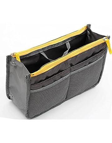 d48921ac456 Women Travel Insert Handbag Organiser Purse Large Liner Tidy Bag Pouch  (Black)