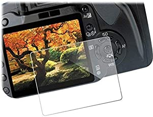 Omax Tempered Glass Screen Protector for Canon 1300D DSLR Camera