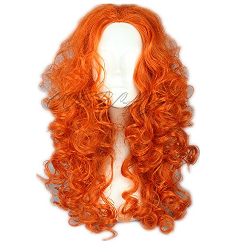 cosplaza-perruque-longue-ondulee-orange-anime-cosplay-wigs-brave-merida-noel-cheveux